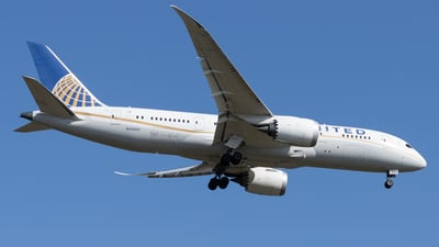 A picture of N45905 - Boeing 7878 Dreamliner - United Airlines - © Michael Knüfer
