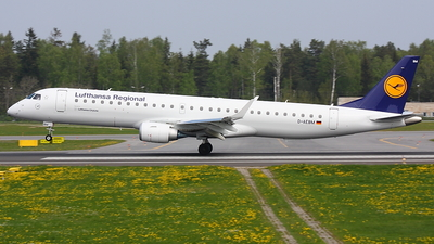 D-AEBM - Embraer 190-200LR - Lufthansa Regional (CityLine)