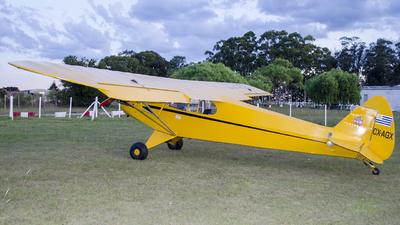 CX-AGX - Piper J-3C-65 Cub - Private