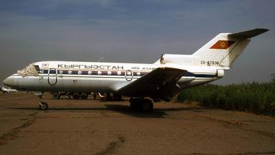 EX-87836 - Yakovlev Yak-40 - Kyrgyzstan Airlines