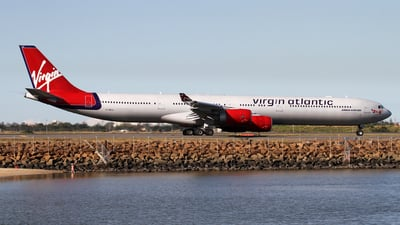 G-VBLU - Airbus A340-642 - Virgin Atlantic Airways