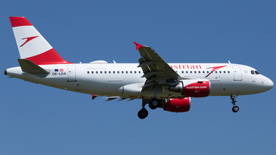 OE-LDA - Airbus A319-112 - Austrian Airlines