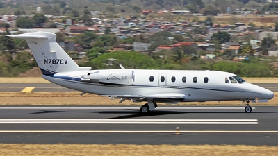 N787CV - Cessna 650 Citation VII - Private