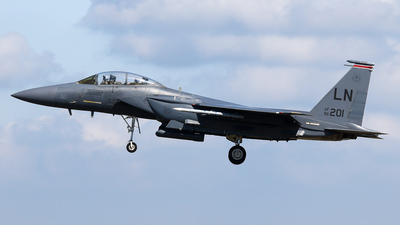 96-0201 - McDonnell Douglas F-15E Strike Eagle - United States - US Air Force (USAF)