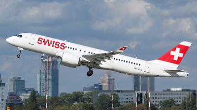 A picture of HBJCC - Airbus A220300 - Swiss - © RAFAL KUKOWSKI