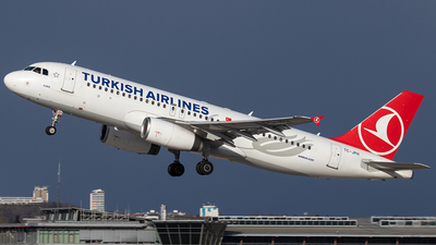 A picture of TCJPH - Airbus A320232 - Turkish Airlines - © Niklas Engel