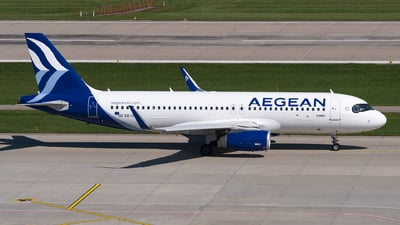 SX-DNA - Airbus A320-232 - Aegean Airlines