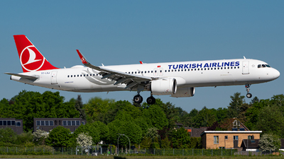 A picture of TCLSJ - Airbus A321271NX - Turkish Airlines - © Niclas Rebbelmund