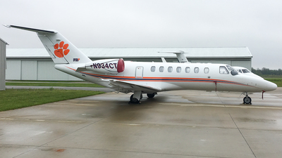 N934CT - Cessna 525 Citation CJ3 - Private