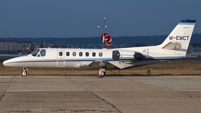 M-EMCT - Cessna 560 Citation Ultra - Private