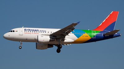 LZ-AOA - Airbus A319-111 - Eritrean Airlines