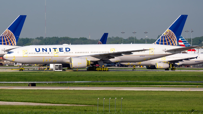 A picture of N784UA - Boeing 777222(ER) - United Airlines - © Kevin Cargo
