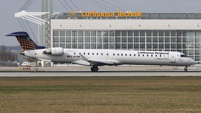 D-ACNB - Bombardier CRJ-900 - Lufthansa Regional (CityLine)