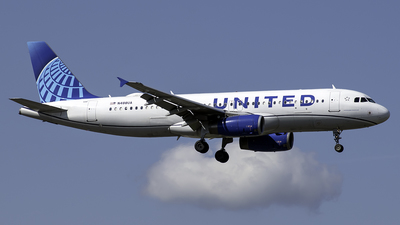 N488UA - Airbus A320-232 - United Airlines