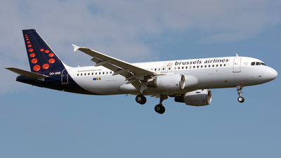 OO-SNE - Airbus A320-214 - Brussels Airlines