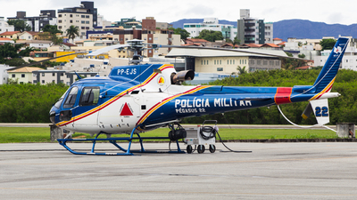 PP-EJS - Helibrás AS-350B3 Esquilo - Brazil - Military Police