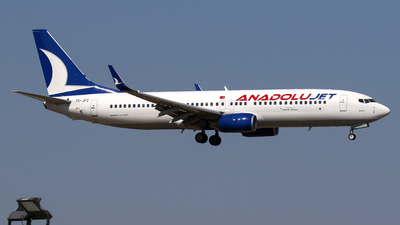 A picture of TCJFZ - Boeing 7378F2 - Turkish Airlines - © Ceyhun Özbesler