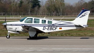 D-EBCF - Beechcraft B36TC Bonanza - Private