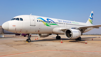XU-706 - Airbus A320-214 - Sky Angkor Airlines