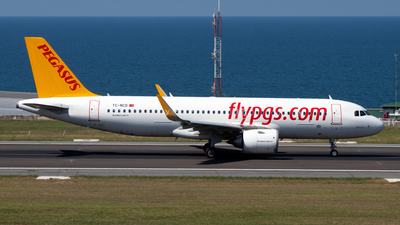 A picture of TCNCD - Airbus A320251N - Pegasus Airlines - © Alperen Yeni
