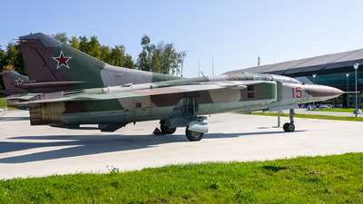 17 - Mikoyan-Gurevich MiG-23UB Flogger C - Soviet Union - Air Force