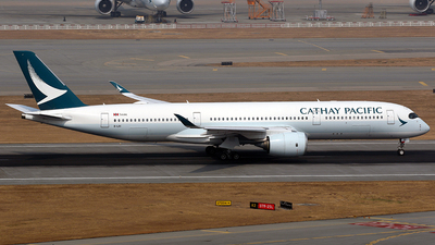 A picture of BLRI - Airbus A350941 - Cathay Pacific - © *DaVe*