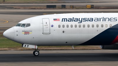9M-MXY - Boeing 737-8H6 - Malaysia Airlines