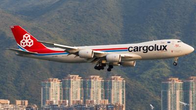 LX-VCB - Boeing 747-8R7F - Cargolux Airlines International