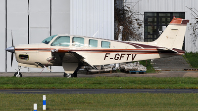 F-GFTV - Beechcraft A36 Bonanza - Private