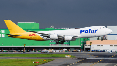 A picture of N851GT - Boeing 74787U(F) - DHL - © ECHO
