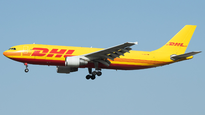 A picture of DAEAT - Airbus A300B4622R(F) - DHL - © Stefan Bayer