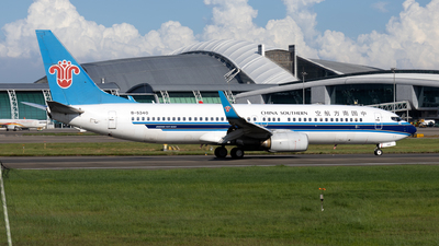 A picture of B5340 - Boeing 73781B - China Southern Airlines - © XPHNGB