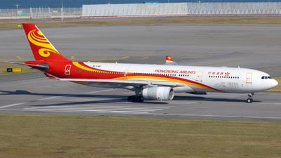 A picture of BLNR - Airbus A330343 - Hong Kong Airlines - © Clyde-