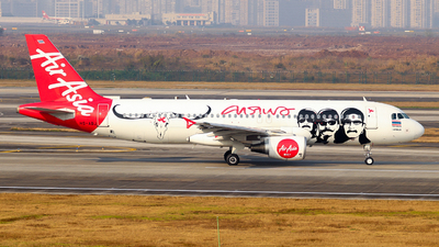 A picture of HSABJ - Airbus A320216 - AirAsia - © ZUCK-ZX