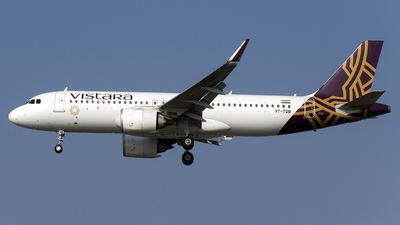 VT-TQB - Airbus A320-252N - Vistara