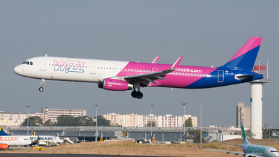HA-LXO - Airbus A321-231 - Wizz Air