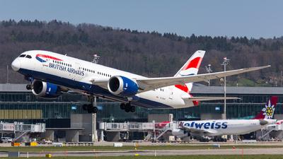 A picture of GZBJF - Boeing 7878 Dreamliner - British Airways - © Roland Brei - RFotomoments