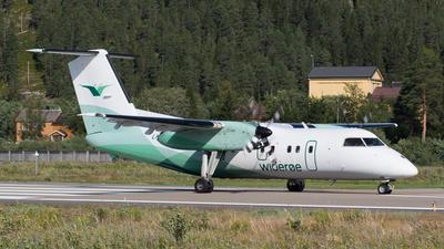 A picture of LNWIP - De Havilland Canada Dash 8100 - Wideroe - © Max Visser