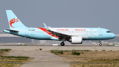 A picture of B320K - Airbus A320251N - Loong Air - © M.T