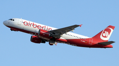 D-ABNL - Airbus A320-214 - Air Berlin