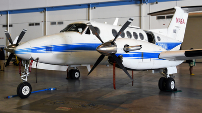 N801NA - Beechcraft 200 Super King Air - United States - National Aeronautics and Space Administration (NASA)