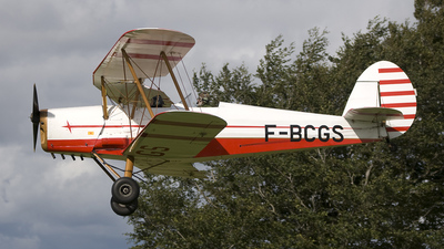 F-BCGS - Stampe and Vertongen SV-4C - Private
