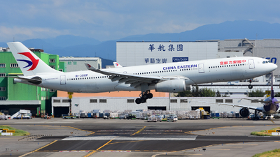 A picture of B300P - Airbus A330343 - China Eastern Airlines - © HUNG CHIA CHEN