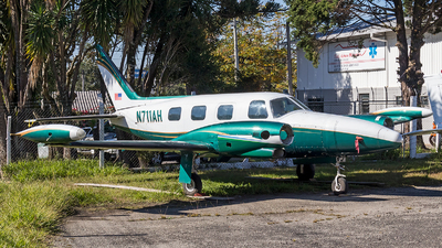 N711AH - Piper PA-31T Cheyenne II - Private