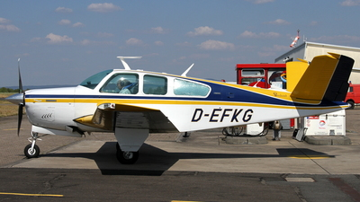D-EFKG - Beechcraft V35B Bonanza - Private