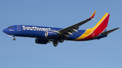 N8645A - Boeing 737-8H4 - Southwest Airlines