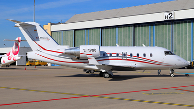 D-ATWO - Bombardier CL-600-2B16 Challenger 604 - Air Alliance