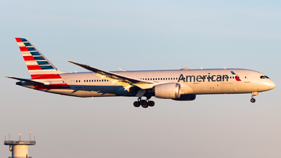 A picture of N823AN - Boeing 7879 Dreamliner - American Airlines - © Sebastian K