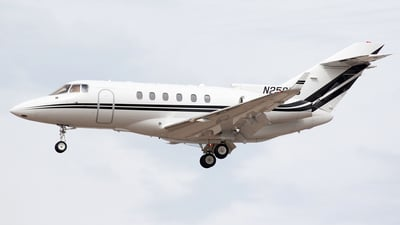 N258MS - Hawker Beechcraft 800XP - Private