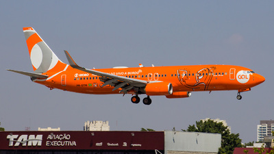 PR-GTM - Boeing 737-8EH - GOL Linhas Aéreas
